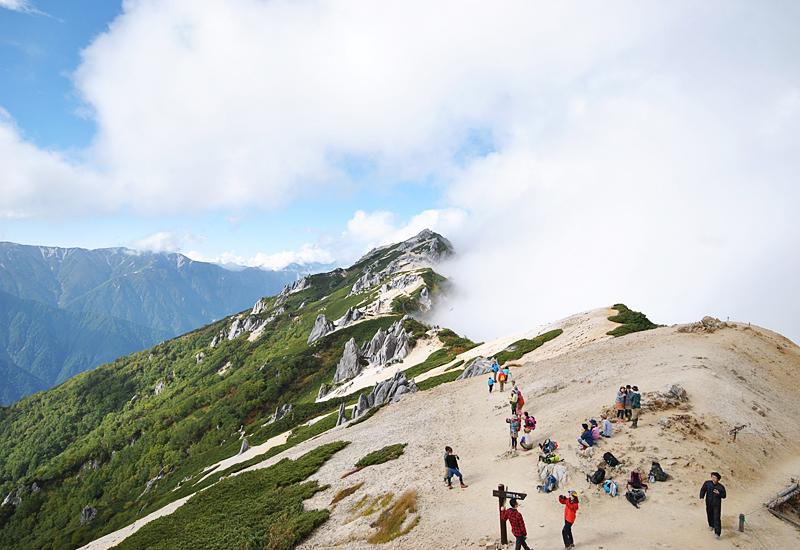 【燕岳】登山歴1年弱・初めての北アルプスデビューは燕岳で間違いなかった! その2
