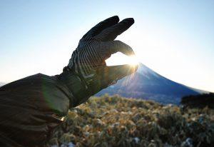 【竜ヶ岳】-15℃の世界が楽園に変わる瞬間・ダイヤモンド富士のご来光
